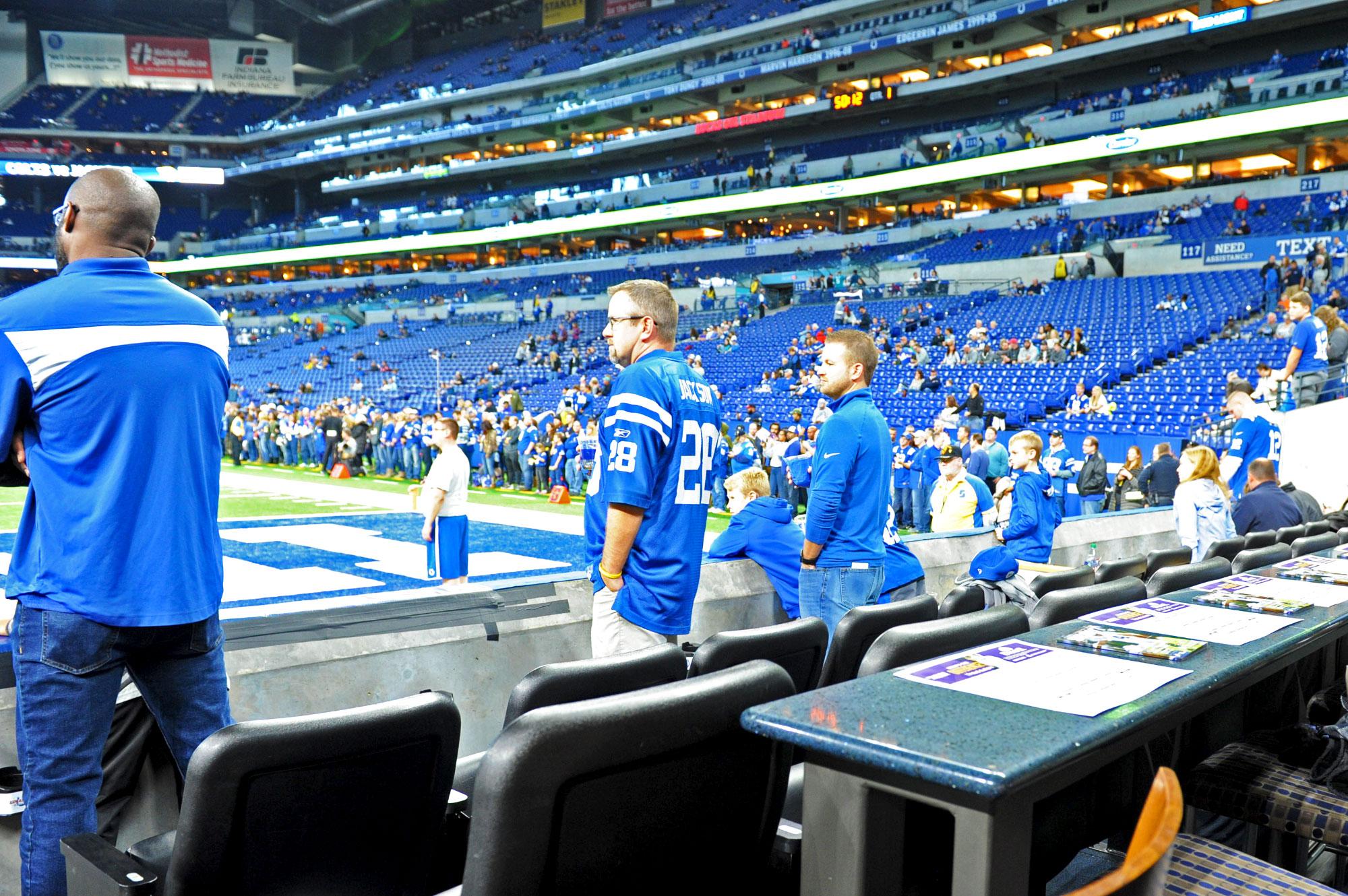 Field suite seats